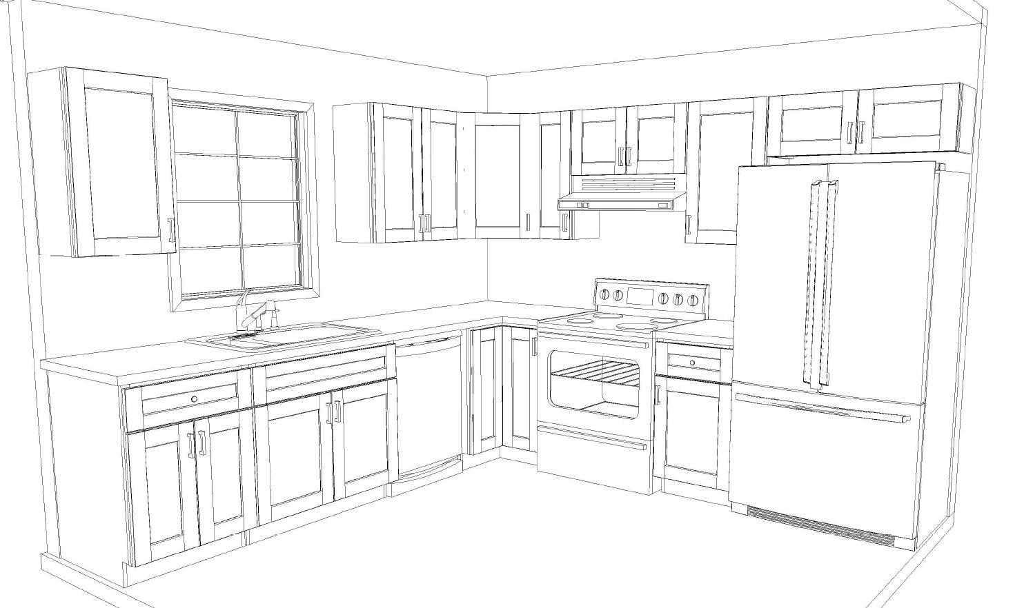 10x10 Kitchen Layout Kob Kitchen