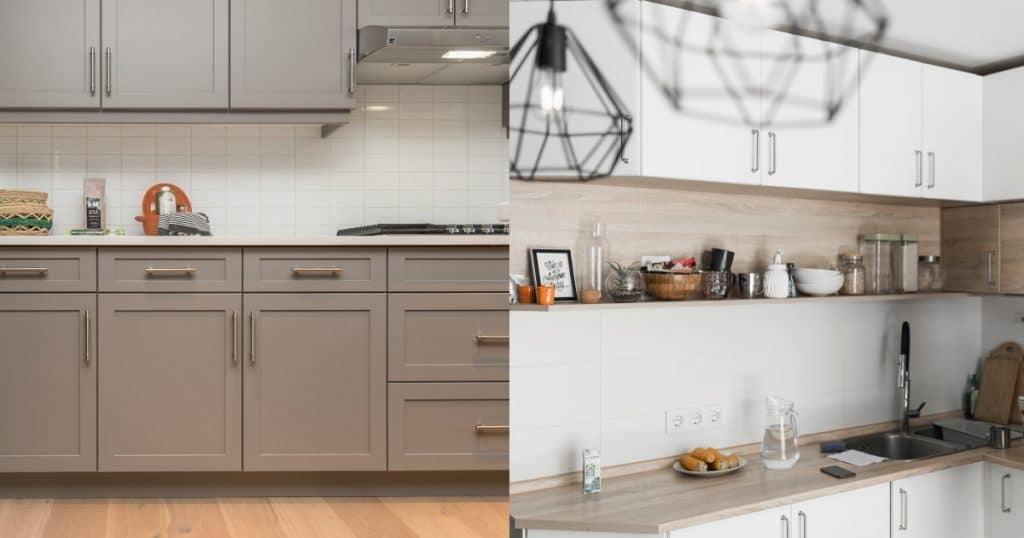 Differences between framed and frameless cabinet doors